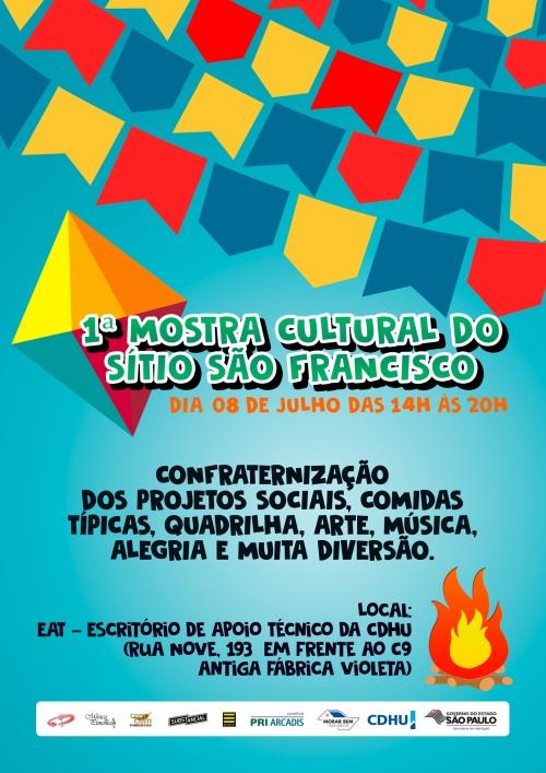 1ª Mostra Cultural do Sítio São Francisco