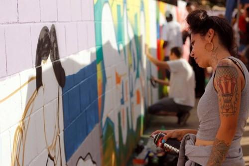 Intervenção Graffiti