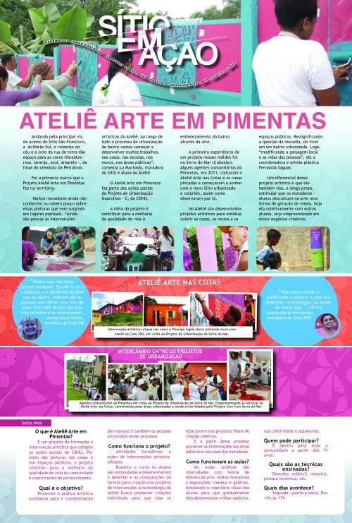 Clique na imagem para baixar a edição de número 7 do jornal Sítio em Ação.